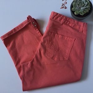 Nine West Jeans West End Crop 16/33 Coral